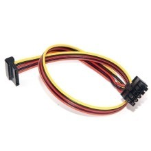 HP DL380G6 10-Pin to SSD  SATA Power Cable (40cm)