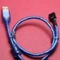 USB Type-A Male to USB 9-Pin Female Header Cable