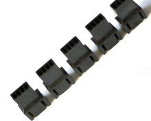 modDIY Male 4-Pin Fan Extension Connector (Molex #2510) with Pins