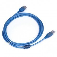 2m USB 2.0 Extension Cable Pro - Type A Male to A Female, Blue