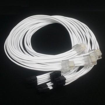 Super Flower Premium Single Sleeved 6+2 Pin PCI-E Modular Cable (60cm)