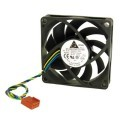 Delta 70mm 4300RPM 4-Pin / 4-Wire PWM Fan