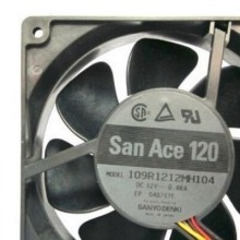 Sanyo San Ace 120 12025 Cooling Fan (109R1212MH104)