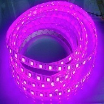 Custom Length Sleeved LED Light Strip - Purple