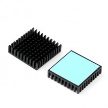 3M-8810 Aavid Thermalloy Premium Black Heat Sink (40mm x 40mm x 10mm)