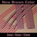 modDIY Brown Heatshrink (3mm to 12mm)