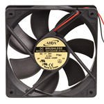 ADDA 120mm x 25mm Black Fan (2200RPM 88CFM) AD1224HB-A71GL