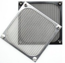 Aluminium 8cm Fan Filter (Black)