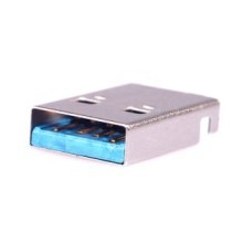 USB 3.0 Type-A 9-Pin Male Connector AM