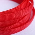 Deluxe High Density Weave Red Cable Sleeve (12mm)