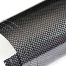 Glossy Black Carbon Fibre Sticker 3D Matt Dry Vinyl with Texture
