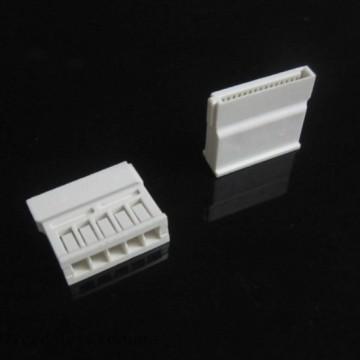 5-Pin SATA Connector w/ Pins - White