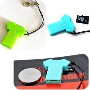 T-Shirt Micro SD Card Reader