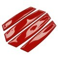 Car Door Edge Guards Anti-collision Scratch Protection Strip Bumpers (Red)