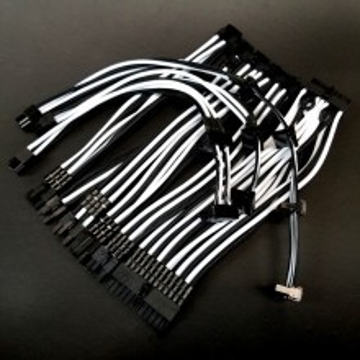 Seasonic FOCUS Plus Short Custom Single Sleeved Modular Cable Kit 20cm