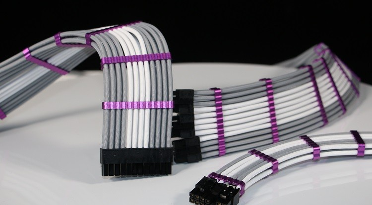 Premium Aluminum Single Sleeved Cable Combs for PC 6 to 24 Slots
