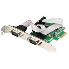 2-Port DB-9 Serial (RS-232) PCI-e Controller Card (WCH382 Chipset)