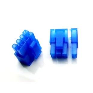 6+2-Pin PCI-E Power Female Connector w/ Pins - Blue