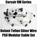 Corsair RM Series Deluxe FEP Silver Wire PSU Modular Cable Set