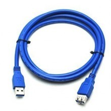 High Quality USB 3.0 Extension Cable - Blue (1.5m/3m/5m)