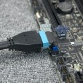 90 Degree Angled USB 3.0 19-Pin 20-Pin Internal Header Mini Connector