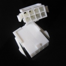 8-Pin ATX CPU/EPS Power Male Connector w/ Pins - White
