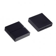 Aavid Thermalloy Premium Black Heat Sink (35mm x 35mm x 10mm)