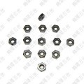 M2.5 Hex Lock Nut - Black Carbon Steel
