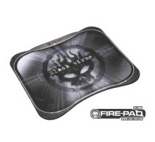Black Virus Fire Pad Professional Gaming Mouse Pad