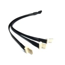 4 Pin Standard PWM Fan to 3 x 5 Pin Thermaltake RGB Fan Cable Splitter