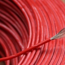High Quality UL3135 16AWG Silicone Rubber Wire (Red)