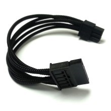 EVGA G2 6 Pin to SATA Molex Power Single Sleeved Modular Cable (40cm)
