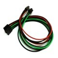 Premium Tailor-Made Single Sleeved 6-Pin to 1 x SATA Modular Cable