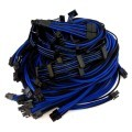 Corsair AX1500i Individually Sleeved Modular Cable Set (Black/Blue)