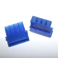Standard 4-pin Male Connector with Pins - Blue