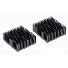 Aavid Thermalloy Premium Black Heat Sink (43mm x 43mm x 17mm)