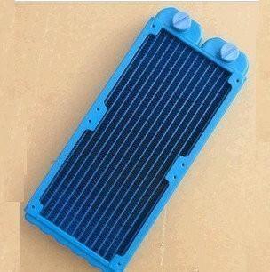 Double 120mm UV Blue 240 Radiator (Pure Copper)