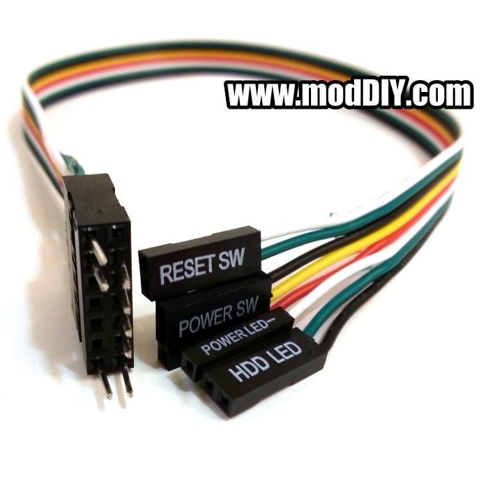 Ibm Lenovo Case 14 Pin To Standard Power Reset Sw Power