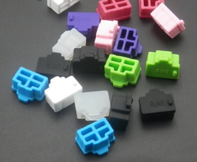 RJ45 Port Silicone Rubber Dust Cover
