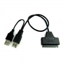 """Hexin 2.5"""" SATA 22-Pin to USB Cable Adapter (SATA to USB 2.0)"""