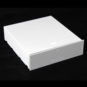 """Computer Tower Case 5.25"""" Bay Storage Drawer (White)"""