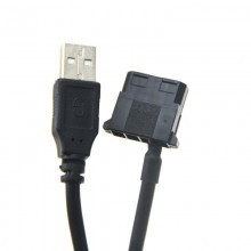 USB to Molex Fan Adaptor Cable (100cm)