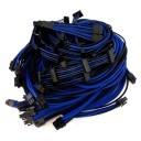 Seasonic X Series Premium Sleeved Modular Cable Set (Black/Blue)