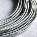 Deluxe High Density Weave Grey Silver Cable Sleeve (3mm)