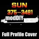 Sun X4 375-3431 375-3481 4-Port PCIE Full Profile Expansion Slot Cover