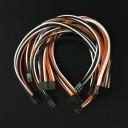 Corsair Premium Single Sleeved Modular Cable Set (Black/Orange/White)