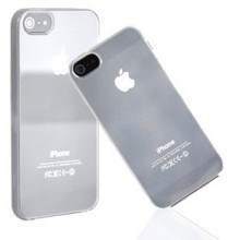 Clear Silicone Gel Case for iPhone 5 (9 Colors)