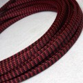 Deluxe PET PP Cotton Braided Sleeving (Red 4mm)