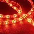 Custom Length Sleeved LED Light Strip - Red