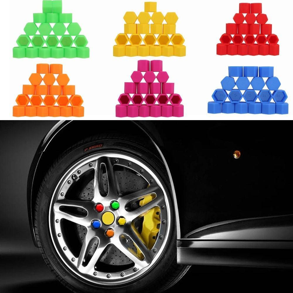 High Quality Silicone Car Wheel Hex Nuts Hub Screw Dust